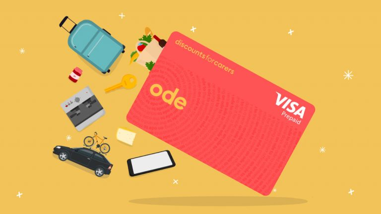 How To Use Your Ode card from Discounts for Carers
