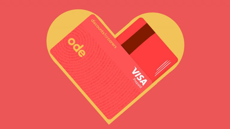 Say goodbye to our old card and hello to the Ode card.